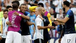 Argentina, Mscherano, 'addio nazionale'