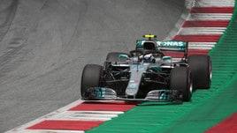 F1 Austria: la Mercedes di Bottas si rompe dopo pochi giri