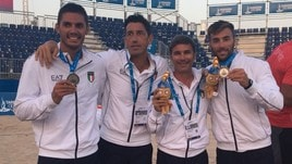 Beach Volley Mediterraneo - Rossi-Caminati conquistano l'argento