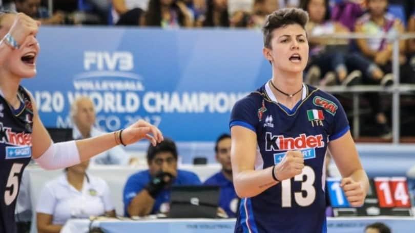 Volley A2 femminile: Caserta non si ferma ecco Giulia Melli