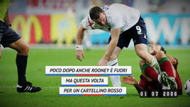 On this day - Rooney espulso... grazie a Ronaldo