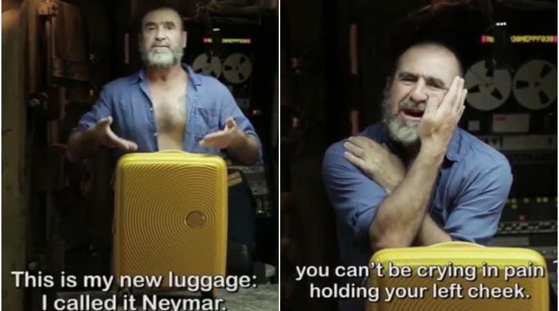 Cantona in tackle su Neymar: «Sei come la mia valigia»