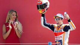Gp Olanda: Marquezscatenato sul podio