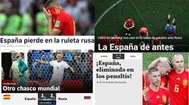Mondiali, stampa spagnola: «Sconfitti alla roulette russa»