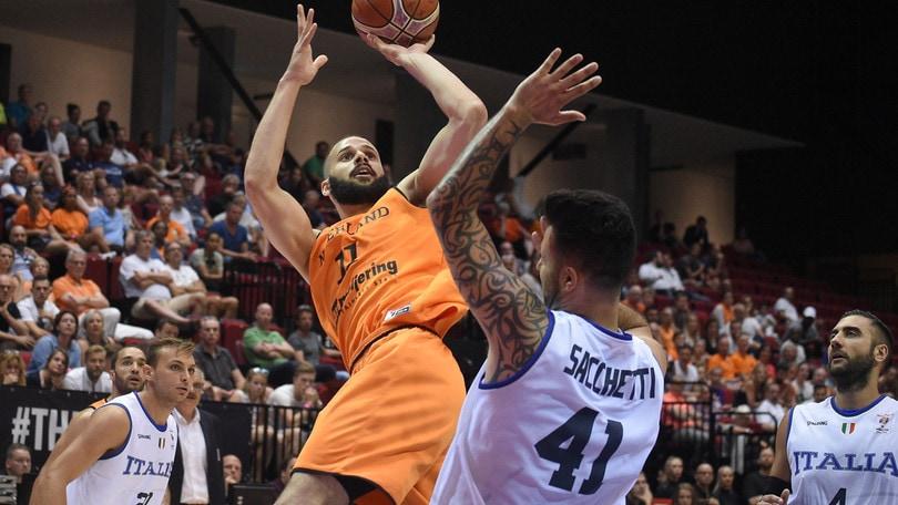 Qualificazioni Mondiali 2019, Kloof stende l'Italbasket