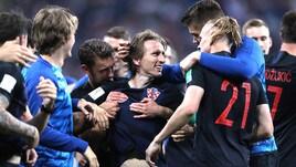 La Croazia vola ai quarti: Danimarca fuori ai rigori