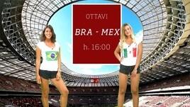 Sfide Mondiali: Brasile-Messico