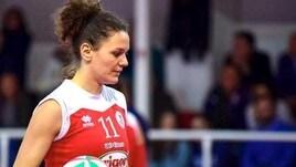Volley A2 femminile: Caserta altra novità al centro Laura Frigo