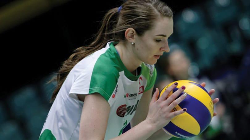 Volley A1 femminile - Un'altra americana per Bergamo: Megan Courtney