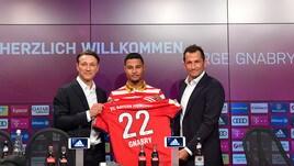 Bayern Monaco, il neo tecnico Kovac presentaSerge Gnabry