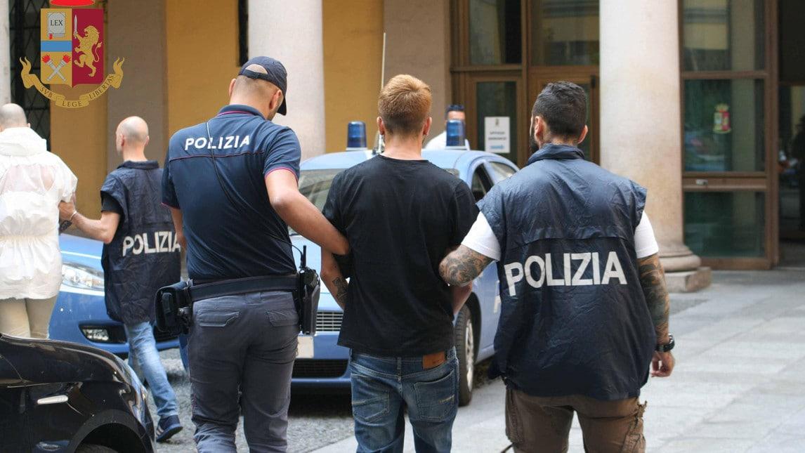Fermati quattro uomini nella notte: uno di loro è legato alla curva dell'Inter