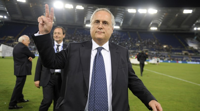 Lazio, Lotito: «Se la gente non ha i soldi non può comprare...»