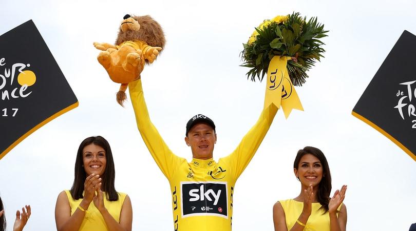 Ciclismo, Froome supera la delusione del Tour: è papà per la seconda volta