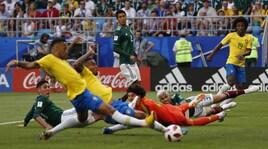 Mondiali 2018, Brasile-Messico: le emozioni del match