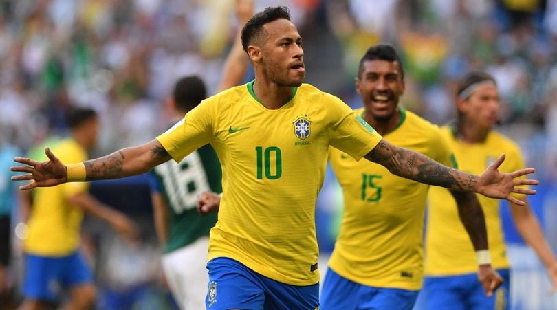 Brasile-Messico 2-0: Neymar e Firmino portano la Seleçao ai quarti