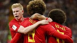 Mondiali 2018: Giappone ko, passa il Belgio