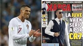 Calciomercato dalla Spagna: «Cristiano Ronaldo, la Juventus fa sul serio»