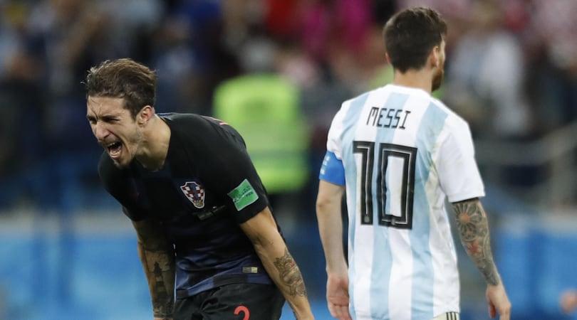 Freccia Vrsaljko in pole per l'Inter