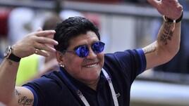 Maradona: «Tornerei gratis a fare il ct per l'Argentina»