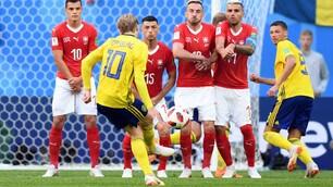 Mondiali 2018: Svezia-Svizzera, le foto più belle dell'ottavo di finale