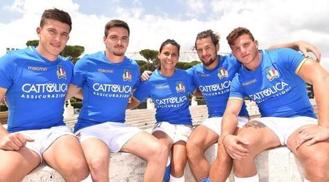 Rugby, Cattolica Assicurazioni nuovo main sponsor azzurri