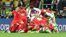 Mondiali 2018, l'Inghilterra supera ai rigori la Colombia e vola ai quarti