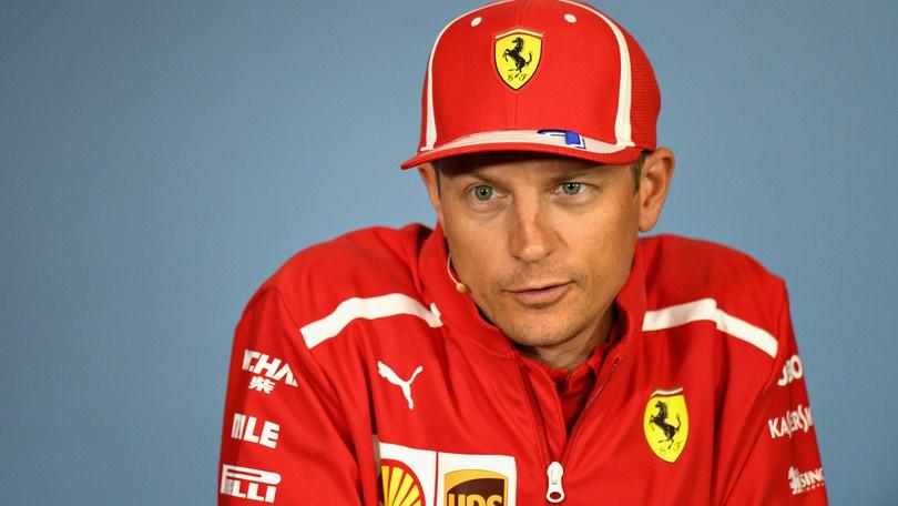 F1 Ferrari, Raikkonen presenta Silverstone