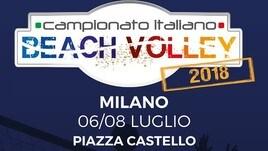 Beach volley - Il tricolore a Milano al Castello Sforzesco
