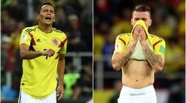Mondiali 2018, Colombia: minacce di morte a Bacca e Uribe