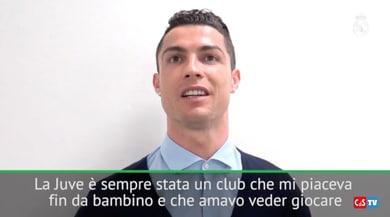 Quando Ronaldo disse: «Da piccolo mi piaceva la Juventus»