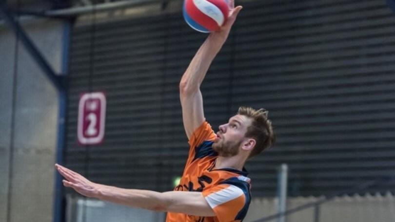 Volley Superlega - Il giovane olandese Van der Ent a disposizione di Velasco
