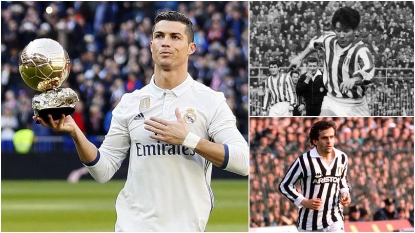 Cristiano Ronaldo sarà l'ottavo pallone d'oro della Juventus?