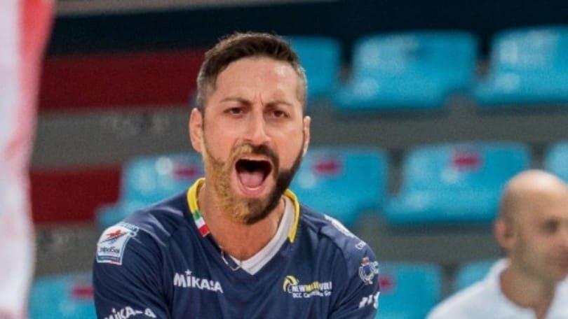 Volley SuperLega - Domenico Cavaccini, il baluardo della New Mater