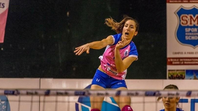 Volley A2 femminile - Alexandra Dascalu nuovo opposto della P2P Baronissi