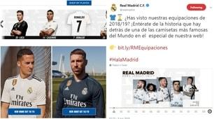 Il Real Madrid presenta le nuove maglie: Cristiano Ronaldo grande assente