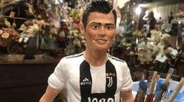Cristiano Ronaldo è già della Juve nel presepe!