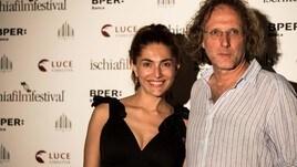 Caterina Murino e Alberto Rondalli all'Ischia Film Festival per Agadah