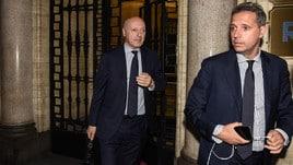 Juventus, Cristiano Ronaldo: Marotta e Paratici escono dagli uffici di Milano senza parlare