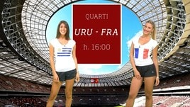 Sfide Mondiali: Uruguay-Francia