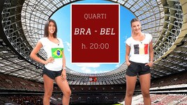 Sfide Mondiali: Brasile-Belgio