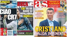 La stampa spagnola: «Ronaldo alla Juventus»