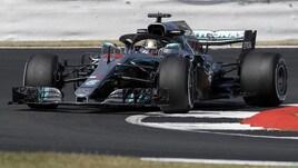 F1 Gran Bretagna, Libere 1: Mercedes davanti, 3° Vettel