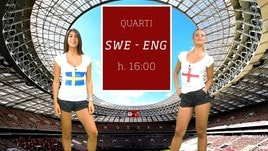 Sfide Mondiali: Svezia-Inghilterra