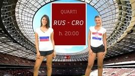 Sfide Mondiali: Russia-Croazia