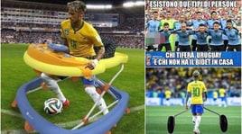 Mondiali 2018, Uruguay-Francia e Brasile-Belgio viste dai social