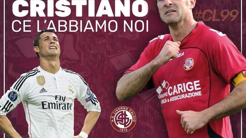 Calciomercato Livorno, l'ironia del club: «Il vero Cristiano ce l'abbiamo noi»