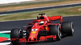 F1 Gran Bretagna, Libere 2: sfreccia Vettel davanti alle due Mercedes