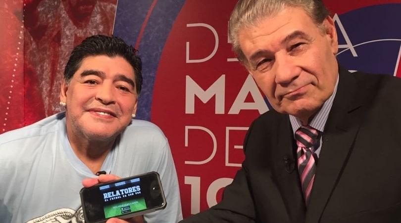 Victor Hugo Morales: «Maradona, l'Italia e l'aquilone cosmico»