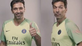 Buffon è del Psg: eccolo con la nuova maglia!