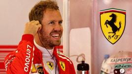 F1 Gran Bretagna, Vettel: «Possiamo parlare di un buon venerdì»